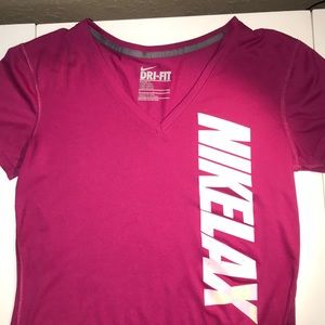 Dri-Fit Nike Lacrosse Shirt